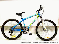 Sepeda Gunung United Dallas XC77 Aloi 21 Speed Fork Lock Out 26 Inci