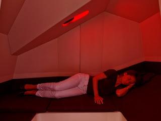 tidur di dalam calmspace