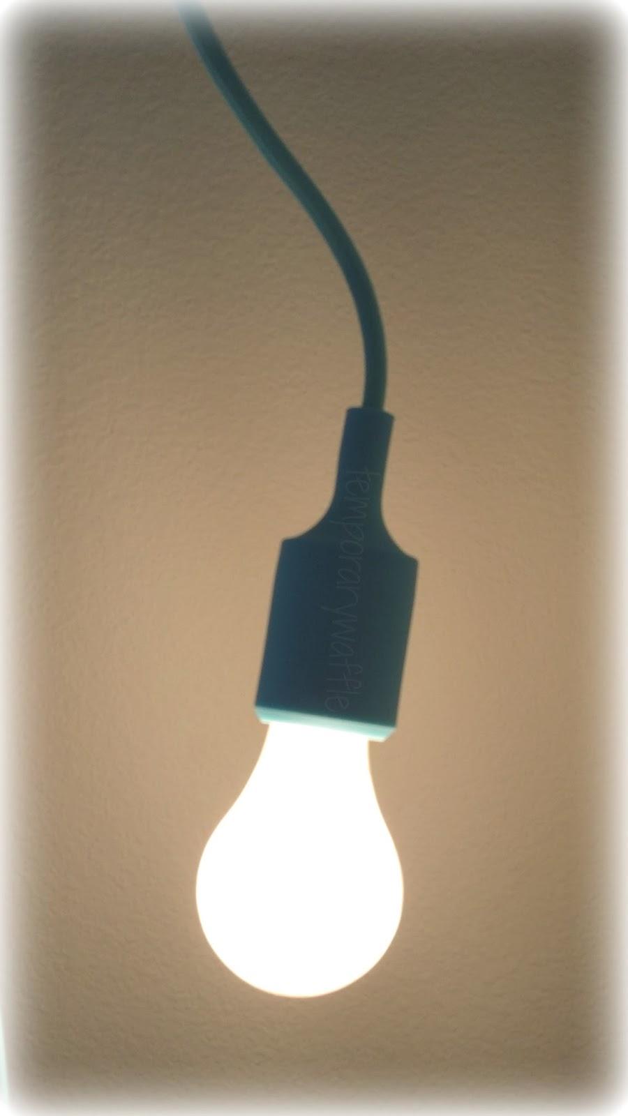 Temporary Light Bulb Socket
