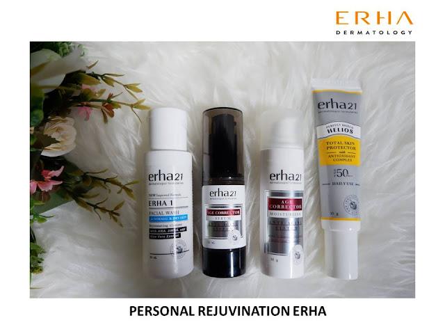 terapi kulit dan rambut secara personal dan profesional oleh erha
