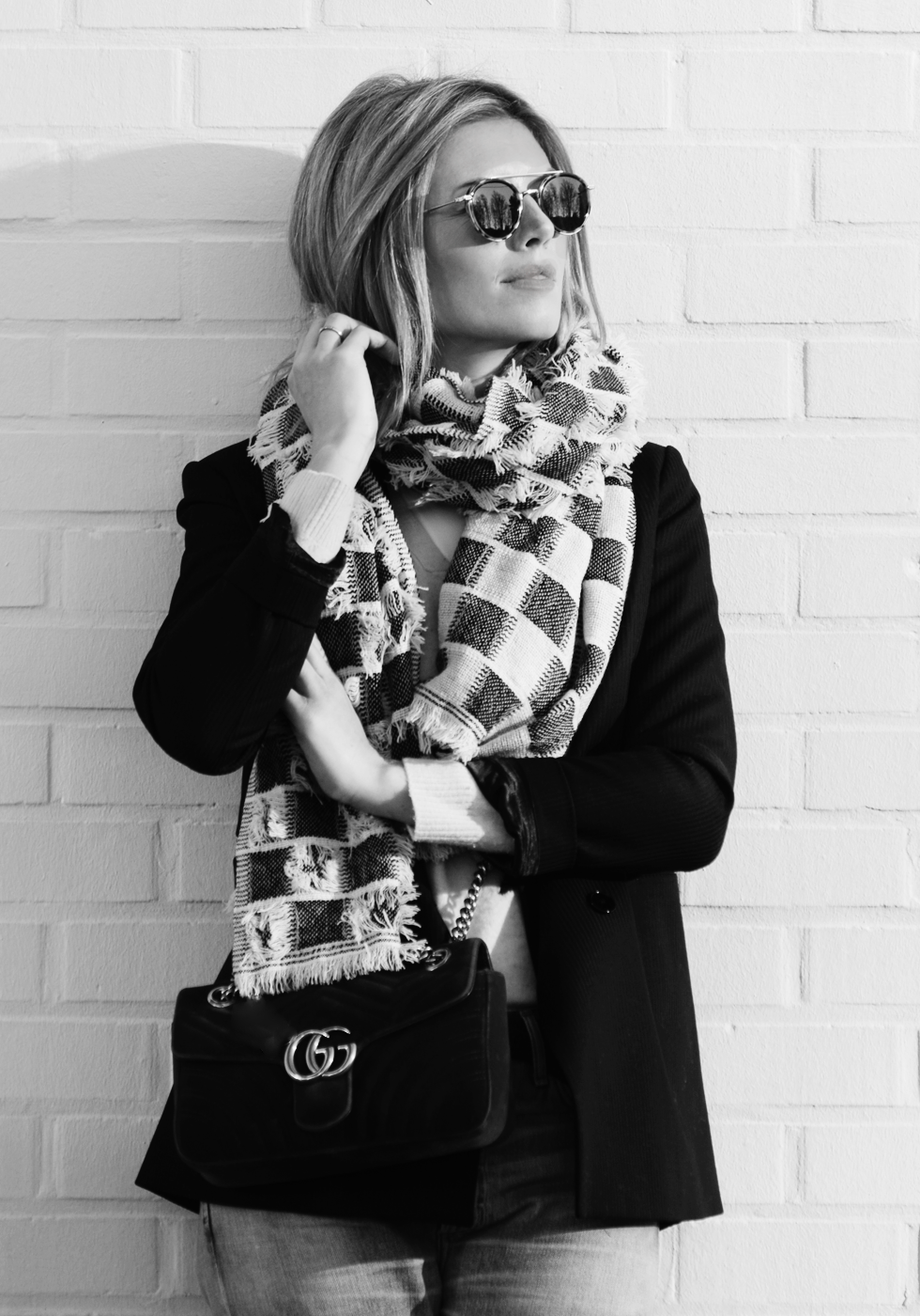 Outfit of the day, Sacha, Sandro, Citizens of Humanity, Gucci, Céline, Mia Zia, ootd, style, fashion, blogger