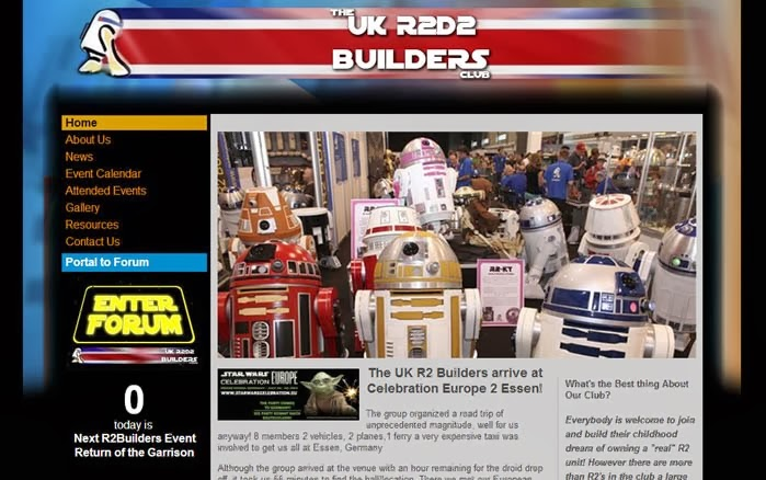 The UK R2D2 Builders