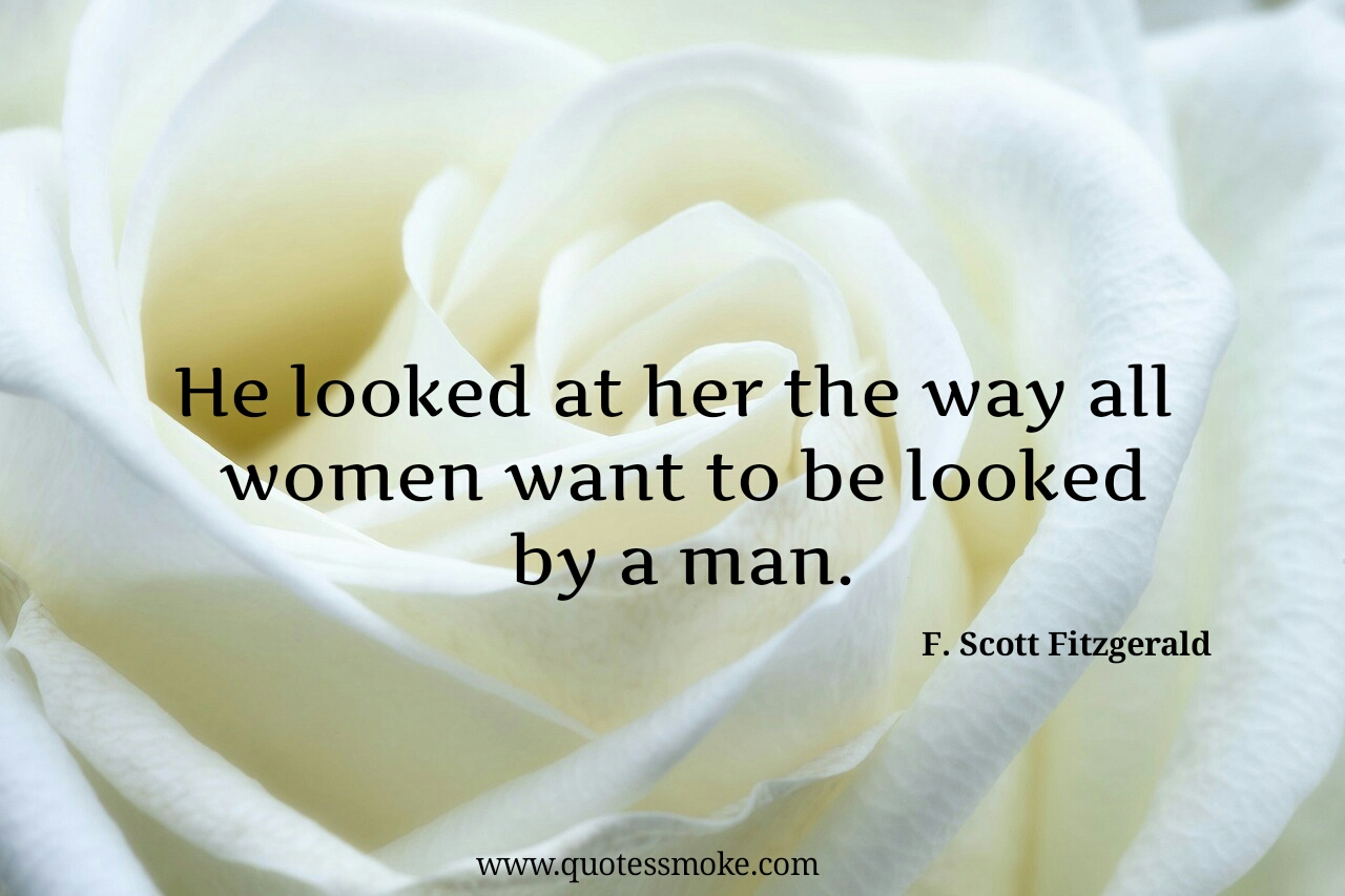 Love Quote By F. Scott Fitzgerald From The Great Gatsby
