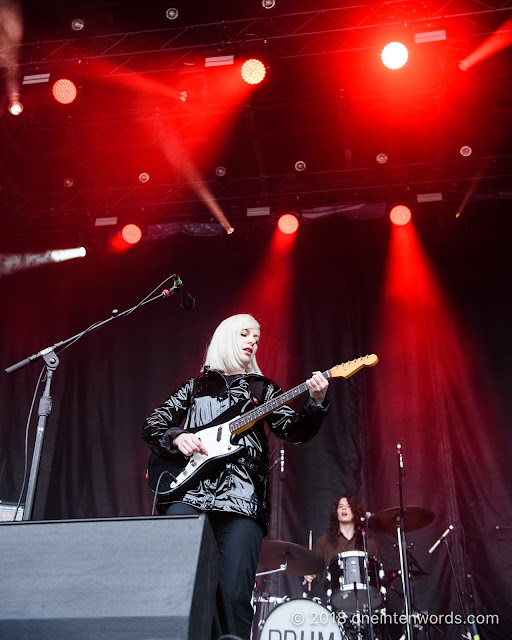 Alvvays on the Garrison Stage at Field Trip 2018 on June 3, 2018 Photo by John Ordean at One In Ten Words oneintenwords.com toronto indie alternative live music blog concert photography pictures photos