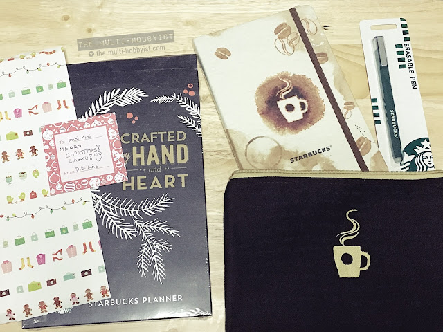 Review: Starbucks 2017 Planner (Philippines)