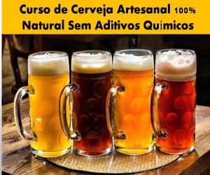 cerveja artesanal natural