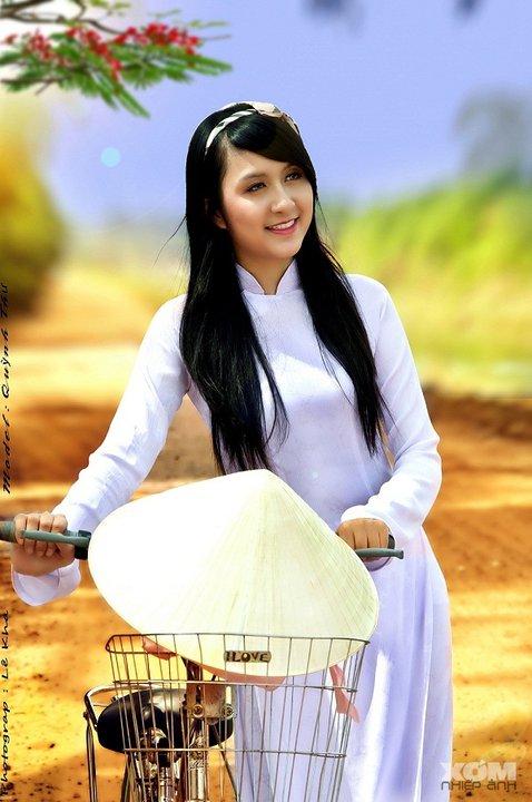 Hot Girls Vietnamese Sexy Ao Dai Viet Nam 01-7539