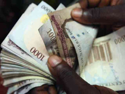 Naira Crashes further, Now N385 To A Dollar