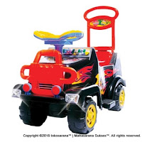 Ride-on Car SHP SMJ572 Super Music Jeep