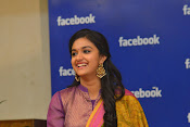keerthi suresh at facebook office-thumbnail-4