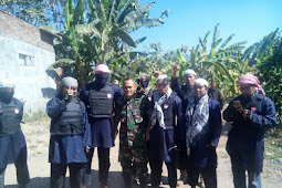 [Gresik Memanas] Milisi Cingkrang ala Teroris Tantang Warga Sumengko yang Amaliyahnya Dibid'ahkan