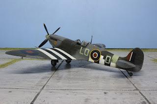Spitfire Mk IX d'Hasegawa au 1/48.