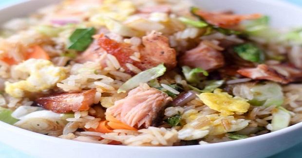 Salmon And Vegetable Stir Fry Recipe