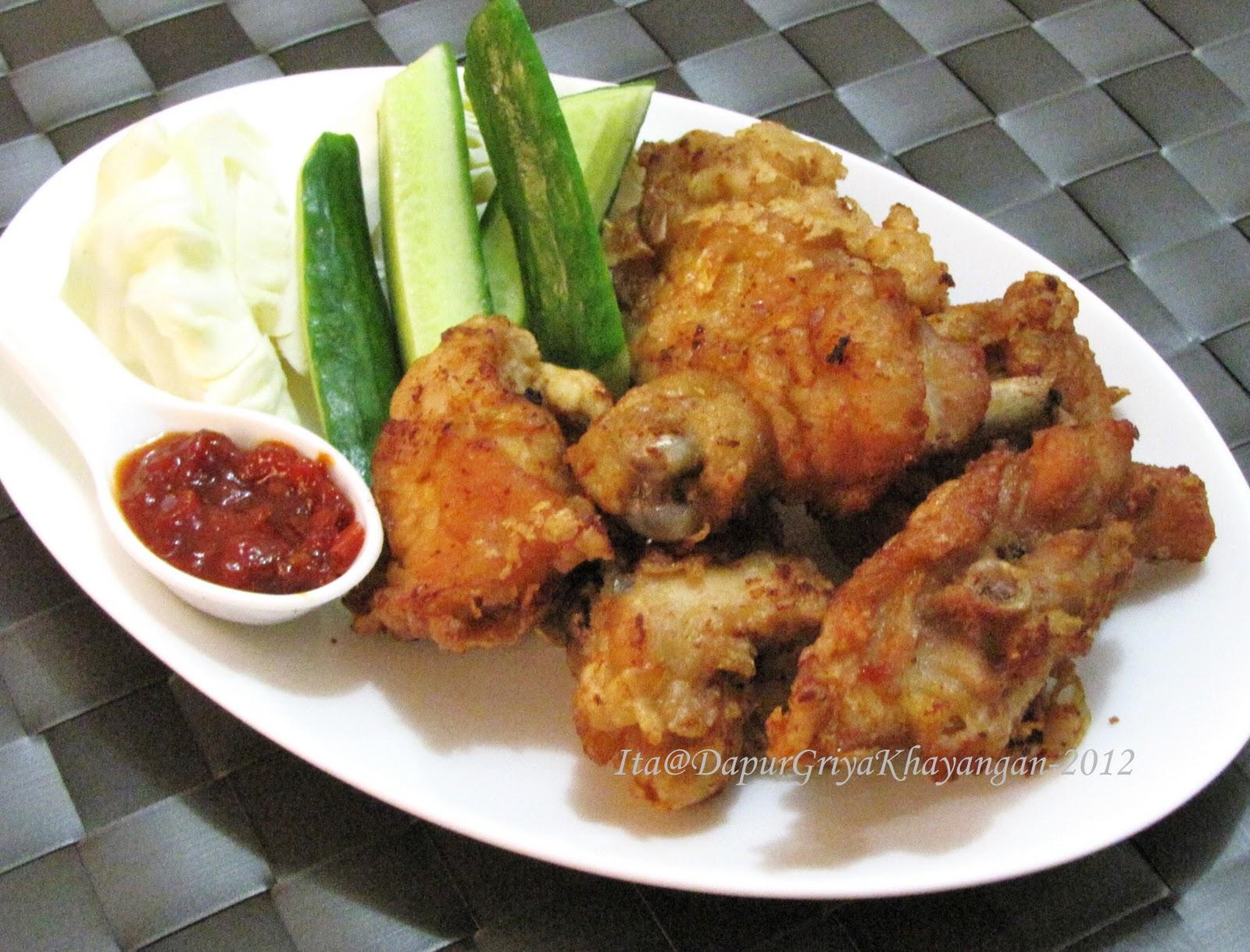 Ayam Goreng Mudah