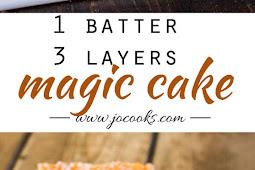 Delicious Magic Cake - Easy To Make Recipe