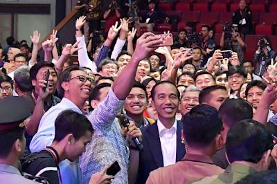 Presiden Joko Widodo Berbagi Pengalaman Jadi Wirausaha
