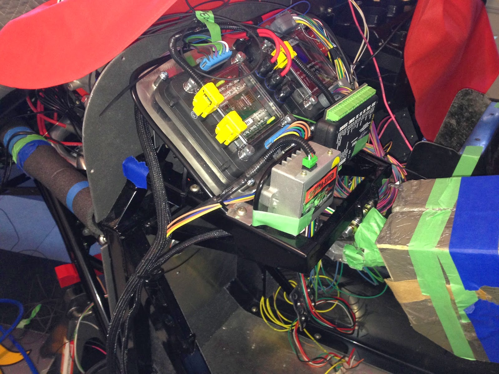 Nicks 33 Hot Rod Spot Wiring The Infinitybox Intelligent Digital Home Systems Things Behind Dash Are Starting To Shape Up It Turns Out Much There Not As Many Wires Being Used Is Supplied In System See Coil Of
