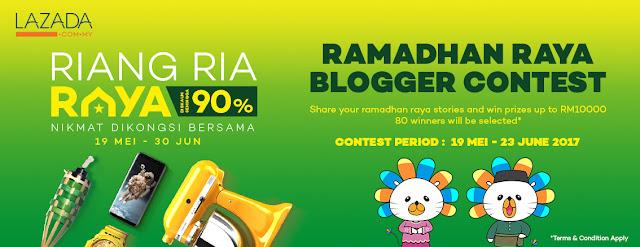 Lazada Ramadhan Raya Blogger Contest - Resepi Ayam Bakar Ala Kenny Rogers