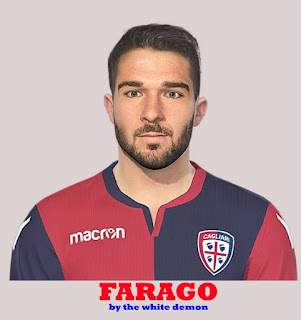 PES 2019 Faces Paolo Faragò by The White Demon
