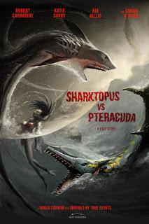 Sharktopus vs. Pteracuda (2014) สงครามสัตว์ประหลาดใต้สมุทร