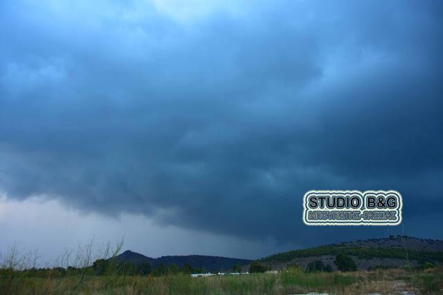 Ραγδαία αλλαγή του καιρού με βροχές, καταιγίδες και χαλάζι