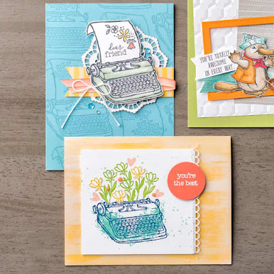 Stampin' Up! P.S. You're the Best stamp set, 2018-2019 Annual Catalog