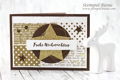 Stampinup Framelits Stickmuster; Weihnachtskarte stampinup; Matchthesketch, stempel-biene; stampinup Frühjahreskatalog 2017