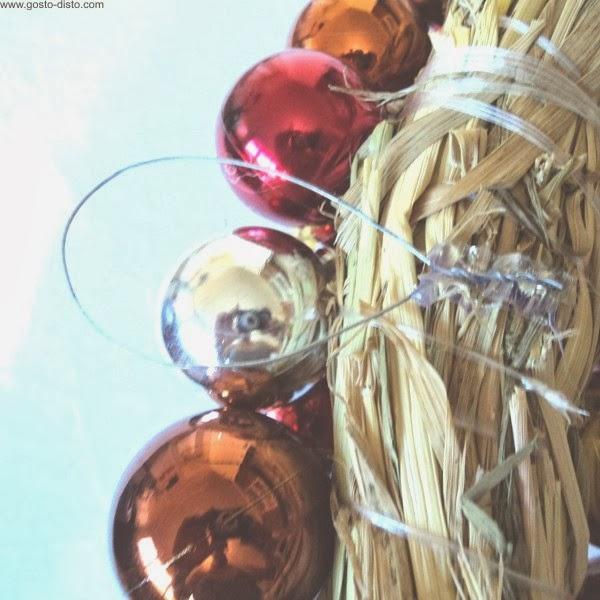 Como fazer uma guirlanda (P.A.P.) - How to make a wreath (D.I.Y.)