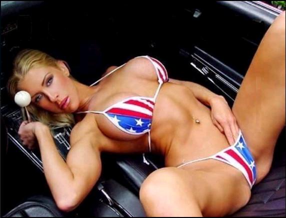 bikini flag football