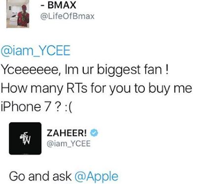 Image result for YCEE tweet on apple