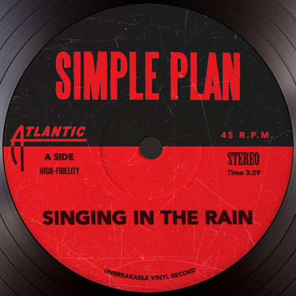 Simple Plan - Singing in the Rain - Single Cover