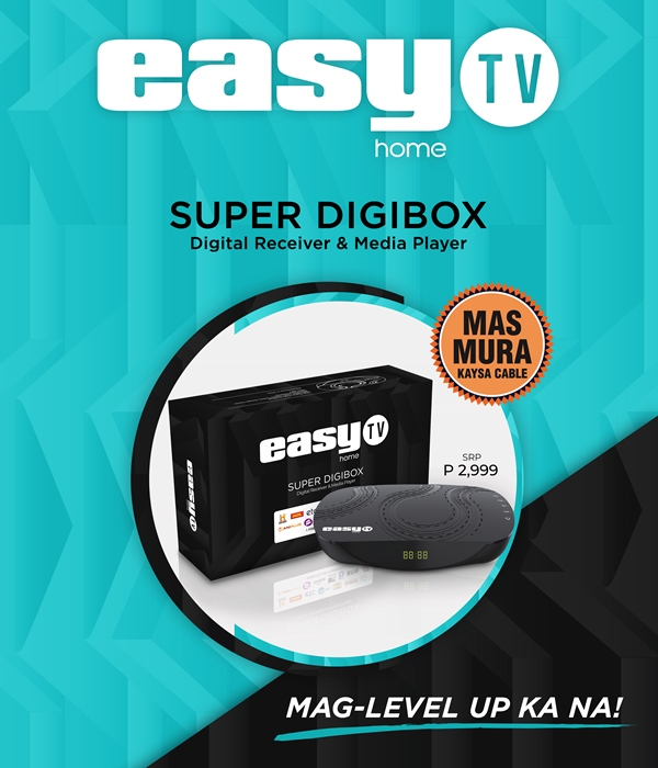 EasyTV Digibox Now Available for only Php2,999; Comes with Free 1-Year Subscription