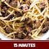 15 minutes Mushroom Spaghetti Aglio Olio