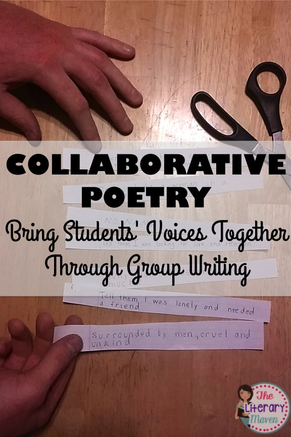 Collaborative Classroom Writing ~ Collaborative poetry bring students voices together