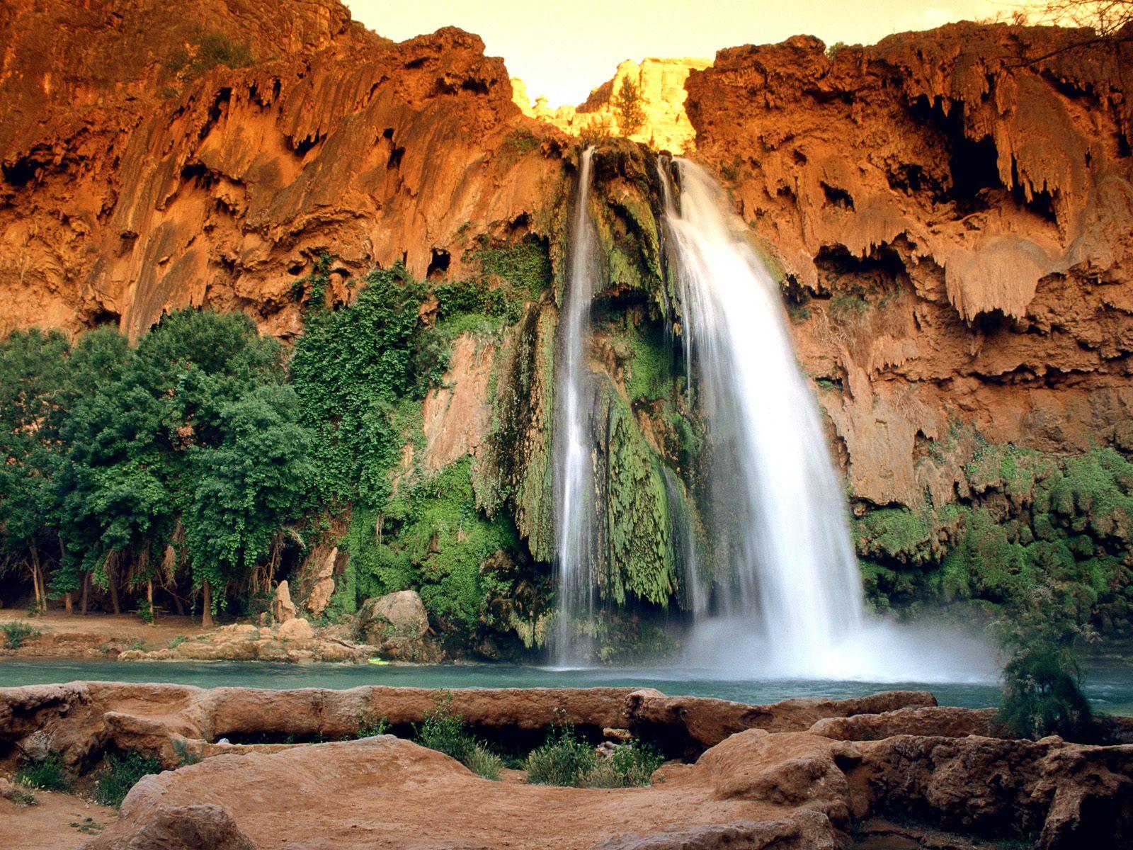 Sitios Mágicos Naturales, Las Cataratas de Havasu en Arizona, Estados Unidos. 2