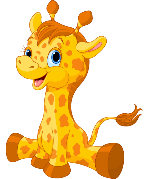 Cute Giraffe Icon