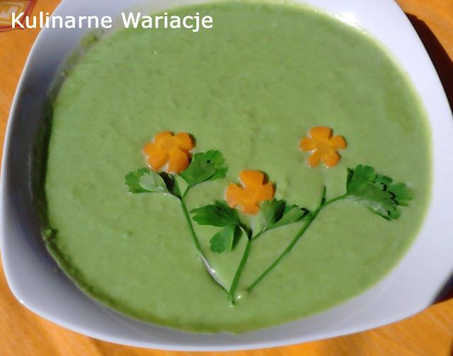 zupa z zielonego groszku