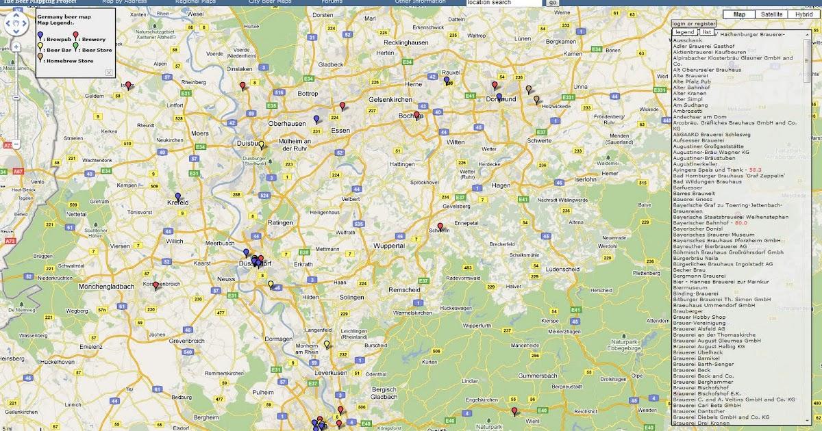 landkartenblog the beer mapping project weltweit brauereien und bierkneipen finden. Black Bedroom Furniture Sets. Home Design Ideas