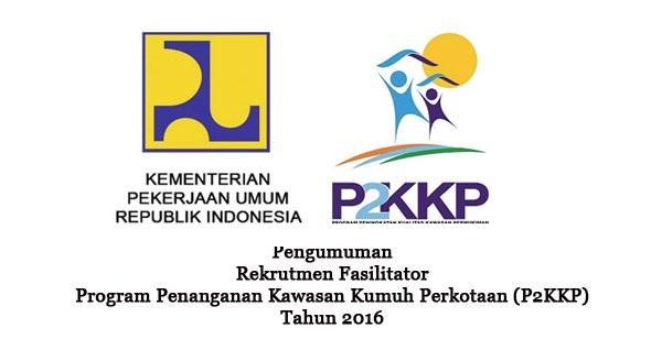 ROGRAM PENANGGULANGAN KEMISKINAN DI PERKOTAAN : SELEKSI CALON 3 FASILITATOR - BUMN, INDONESIA