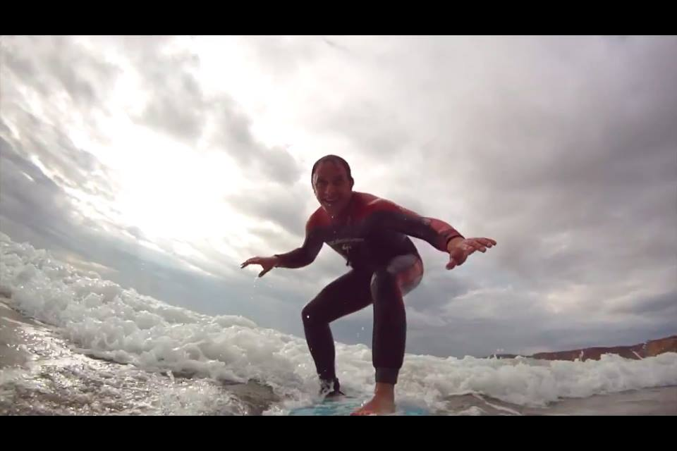 DOCUMENTAL DESCUBRIENDO EL SURF Con Luis Callejo y Emma Álvarez