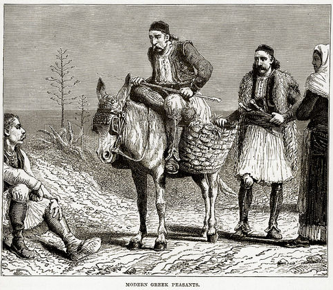 Modern Greek Peasants