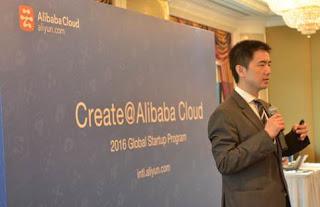 Source: Alibaba Cloud. Yu introduces Create@Alibaba Cloud.