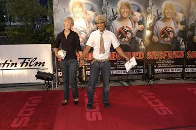 Constantin Film Sandra Rohrmayr und Michael Dierks Red Carpet