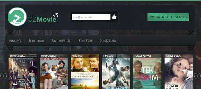 En iyi Ücretsiz WordPress Film Temaları OzMovie v5