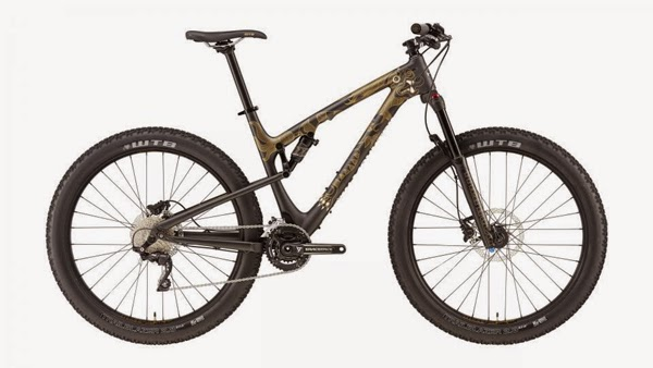 Rocky Mountain Bicycles 2016 Sherpa 27+ Black/Gold