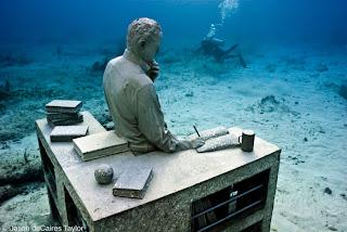 Esculturas Submarinas , el coleccionista de sueños