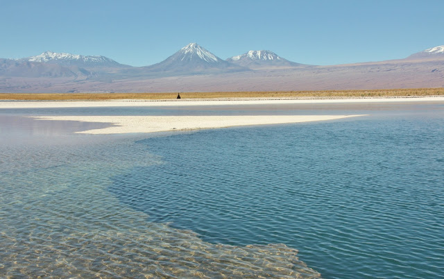 Laguna Céjar, no Deserto do Atacama.