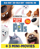 The Secret Life of Pets, holiday gifts, movies