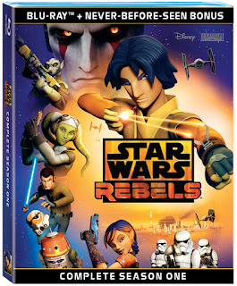 Star Wars Rebels: Complete Season One Now on Blu-ray