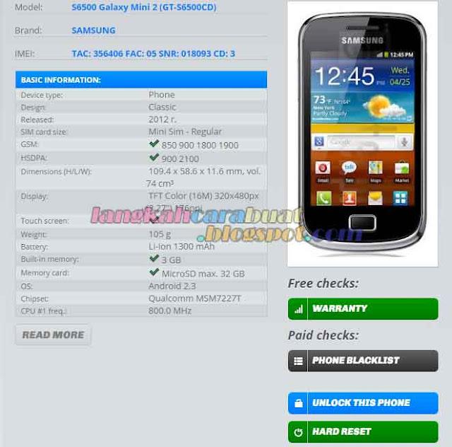 Cek Keaslian Samsung | Cara Mengecek Keaslian HP Samsung